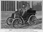 La Panhard et Levassor 6HP victorieuse de Paris-Dieppe en 1897, avec Gilles Hourgières.jpg