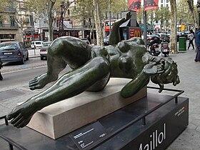 La Rivière by Aristide Maillol (Barcelona)