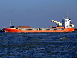 Lady Clarissa IMO 9201803 leaving Port of Rotterdam 25-Jan-2007.jpg