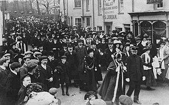 Aldeburgh - Elizabeth Garrett Anderson, Mayor of Aldeburgh, 1908