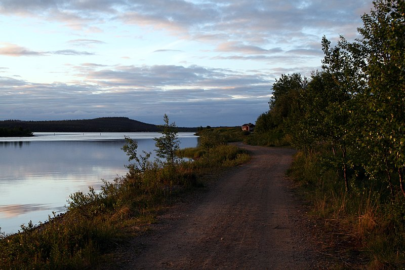 File:Lake Inari - panoramio.jpg