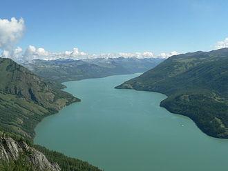 Kanas Lake - Image: Lake Kanas