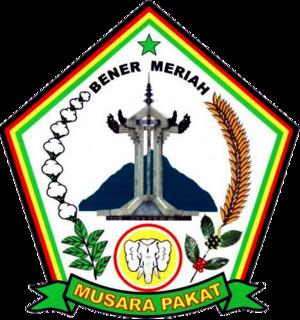 Kabupaten Bener Meriah Wikiwand