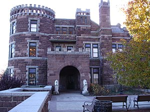 National Register of Historic Places listings in Passaic County, New Jersey - Image: Lambert Castle