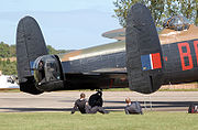 Lancaster pa474 turrets at kemble arp