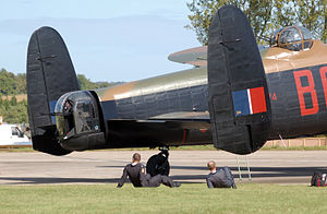 Twin tail - Twin tail of Avro Lancaster