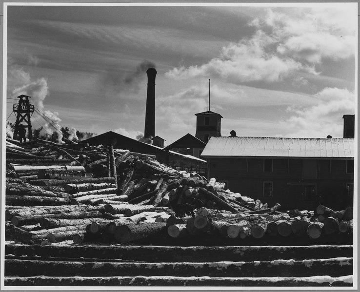 File Landaff Grafton County New Hampshire Logs Are