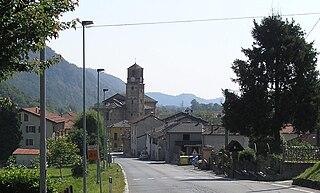 Monterosso Grana Comune in Piedmont, Italy
