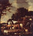Landscape with Exotic Animals by Melchior d'Hondecoeter Het Loo.jpg