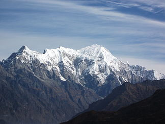 westernmost section of the Langtang Himal
