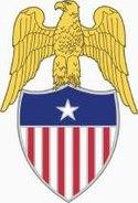 Lapel insignia of an aide-de-camp to a U.S. Army Brigadier General