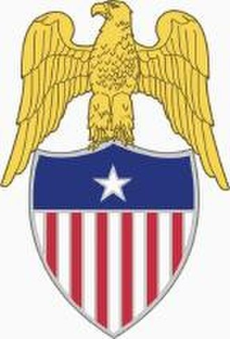 United States Army branch insignia - Image: Lapel insignia of an aide de camp to a U.S. Army Brigadier General