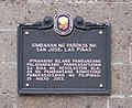 Las Piñas Church marker.jpg