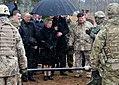 Latvian president spectates OSS XII 150329-A-AP268-831.jpg