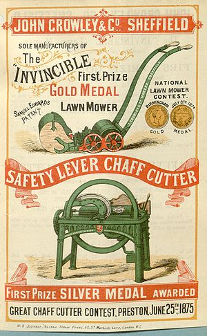 "English: Advertisement for: «The ""INVINCI..."