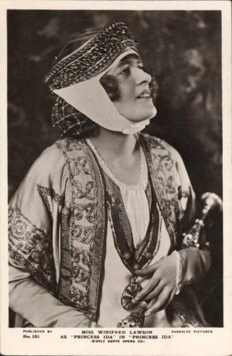 Princess Ida - Winifred Lawson as Princess Ida, 1922