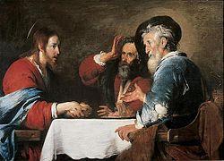 Bernardo Strozzi: Christ at Emmaus