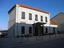 Le Vernet (03) - Mairie 2014-04-19.JPG
