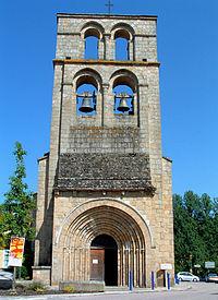 Le Vigen - Eglise Saint Mathurin - Façade.JPG