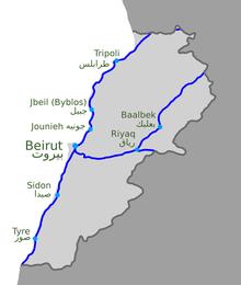 Transport Au Liban Wikip 233 Dia