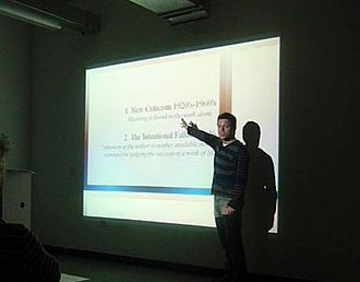 Intentism - Lecture on Intentism at The University of East London