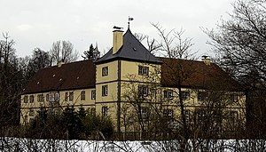 Eleonore von Grothaus - Schloss Ledenburg, the manor house where she was born and lived