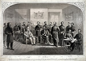 John Gibbon - Image: Lee Surrenders to Grant at Appomattox
