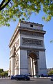 Left side view of the Arc de Triomphe, Paris 9 October 2018 01.jpg