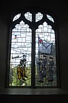Left window of RAF Regiment Chapel, Church of St Anne, Catterick.jpg