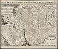 Les Frontieres de France et dItalie ou se trouvent les Etats du Duc de Savoye partie de ceux de Milan et de la République de Genes avec les diverees routes ou passages de France et dAllemagne en Italie par les Alpes (8345380723).jpg
