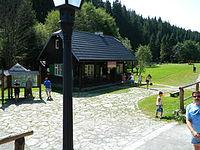 Lesnícky skanzen Vydrovo infocentrum.JPG