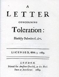 A Letter Concerning Toleration John Locke