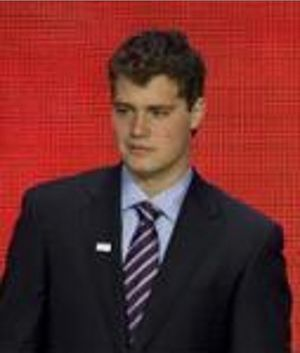 Levi Johnston - Johnston at the 2008 Republican National Convention (September 2008).