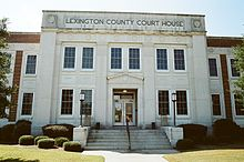 Lexington County Courthouse, Lexington, South Carolina.JPG