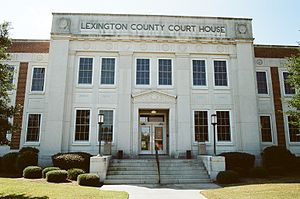 Lexington County Courthouse in October 2013