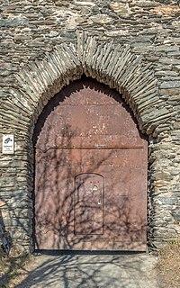 Liebenfels Hoch-Liebenfels Burgruine Burgtor 29122016 5933.jpg