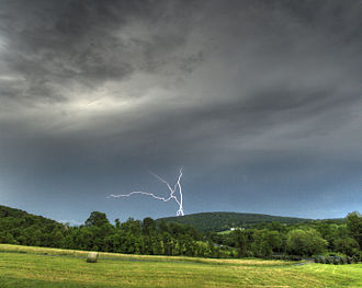 Climate of Virginia - Thunderstorms are a frequent concern in Virginia.