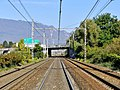 Lignes de la Maurienne et vers Saint-André-le-Gaz au nord de Chambéry (2017).JPG