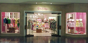 Lilly Pulitzer - A Lilly Pulitzer store at The Gardens Mall in Palm Beach Gardens, Florida