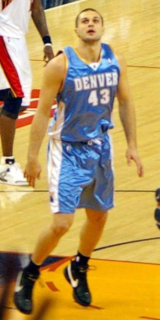 Linas Kleiza - Linas Kleiza in 2007 as a Nuggets member