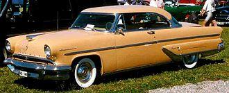 Lincoln Capri - 1955 Lincoln Capri Coupe