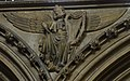 Lincoln Cathedral, King David with harp (32143014261).jpg