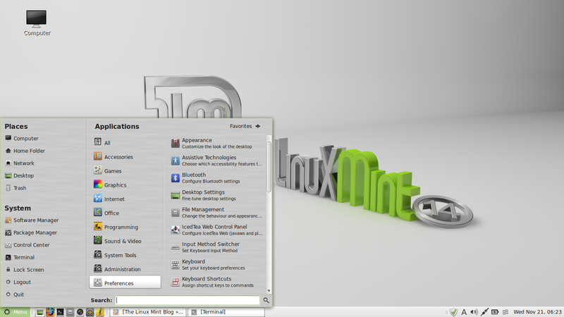 File:Linux Mint 14 Nadia with MATE.png