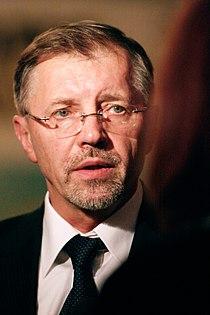 Litauens statsminister Gediminas Kirkilas under Nordiska Radets session i Oslo. 2007-10-29. Foto- Magnus Froderberg-norden.org.jpg