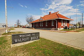 Walnut Ridge, Arkansas City in Arkansas, United States