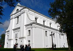 Lithuania Veisiejai St. George church.jpg