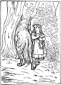 Little Red Riding-Hood in Tales of Mother Goose (Welsh).png