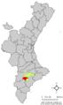Localització de Castalla respecte el País Valencià.png