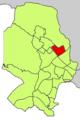 Localització de Son Flor respecte del Districte de Ponent.png