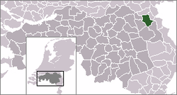 Location of Cuijk